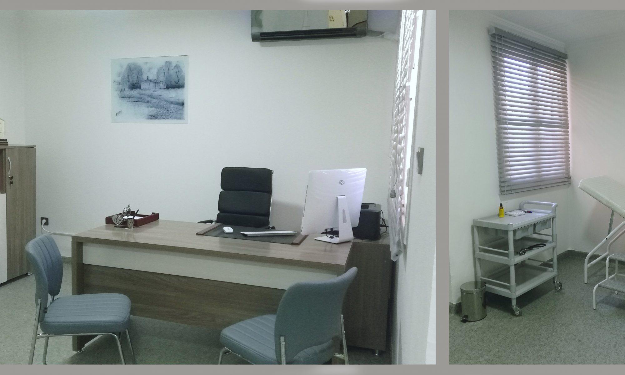 Cabinet de rhumatologie